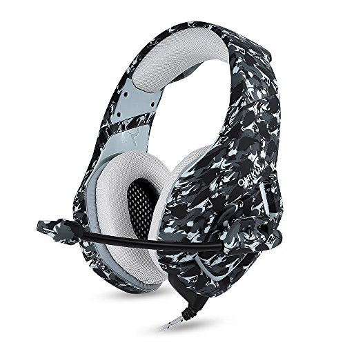 Docooler ONIKUMA K1 3.5mm Gaming Headsets mit Mikrofon Stereo Sound Noise Reduction Musik Kopfhörer für PC Neue Xbox Laptop DS PSP - 6.56 Stereo-audio