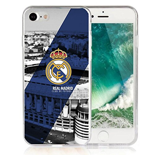 "Funda Real Madrid Samsung S7 Edge Carcasa de gel Silicona para Samsung Galaxy S7 Edge (5,5"")"