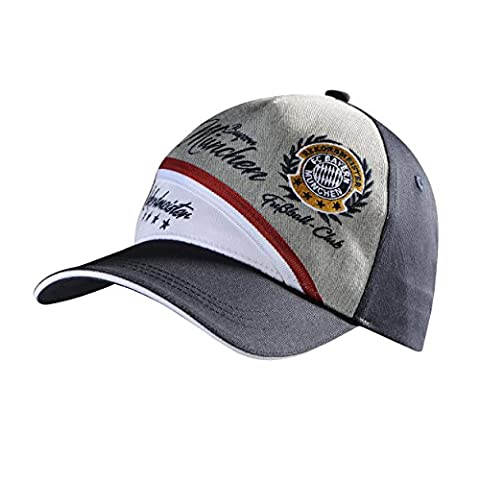 Cap Record Holder FC Bayern München + FREE BADGE BASEBALL Baseball Base Cap, Hat Chapeau–Hat–Sombrero, Munich München