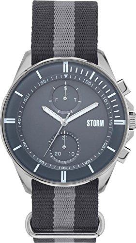 Storm London Rexford 47301/GY Montre-Bracelet pour hommes très sportif