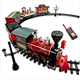 Disney Park 30 piece Christmas Train Set with Mickey, Goofy, Duffy, Chip and Dale by Disney
