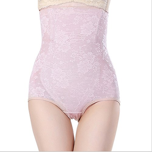 Fzmix New Women'S Fashion Body Shaper Tight Shorts Waist Cincher Slimming Underwear Pink