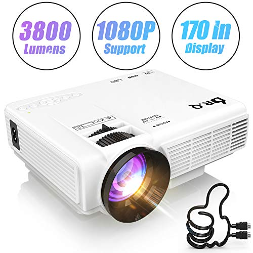DR.Q HI-04 Projector 1080P Full ...