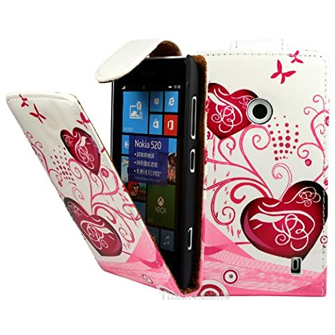 Housse Protection Nokia Rouge - Nokia Lumia 520 / 525 Etui en