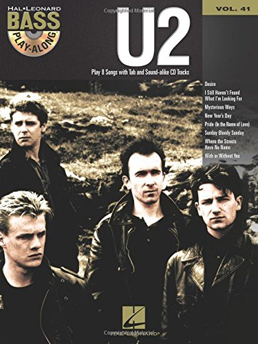 U2 guitare basse+CD (Book & CD)