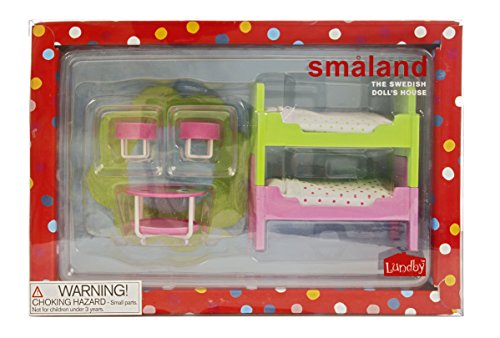 Lundby 1:18 Scale Dolls House Smaland Childrens Room Set