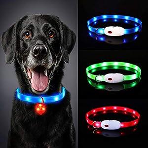 Oladwolf Collar Luminoso Perro, USB