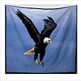 Personalized Tapestry, Eagle Pattern Nordic Polyester Tapestry, Wall Decoration, Beach Towel Carpet , F , 150x130cm