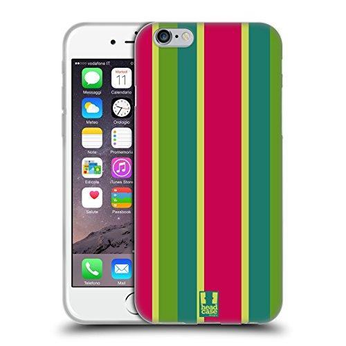 Head Case Designs Bianco E Nero Serie Zip It 2 Cover Retro Rigida per Apple iPhone 7 / iPhone 8 Cocomero