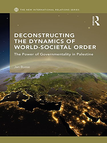 Deconstructing the Dynamics of World-Societal Order: The Power of Governmentality in Palestine (New International Relations) (English Edition) por Jan Busse
