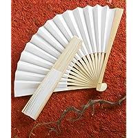 Elegant White Folding Fan Wedding Favors, 240 by Fashioncraft preisvergleich bei billige-tabletten.eu