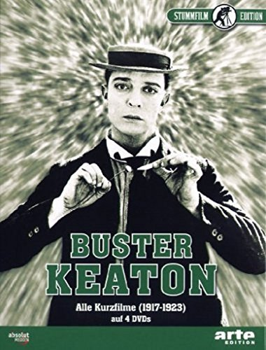 Buster Keaton - Alle Kurzfilme (4 DVDs)