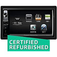 (Renewed) Power Acoustik PDR654 Double DIN Multimedia Reciever with 6.5-Inch Screen