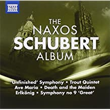Naxos Schubert Album by F. Schubert (2010-11-25)