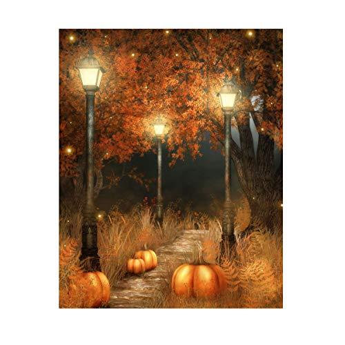 Werse 5 x 7 ft Halloween K¨¹rbis Lampe Fotografie Hintergrund Studio Prop Hintergrund (Halloween Poster 7)