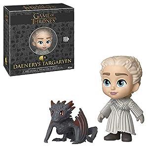 Funko Juego De Tronos Targaryen Figura 5 Stars Daenerys w/Drogon, multicolor, Estándar (37774) 1