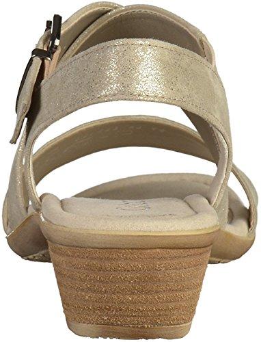 Gabor 64.540 Damen Sandalen Beige