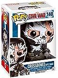 Funko BOBUGT678 Figurine - Marvel - Pop Vinyle 140 - Crossbones Battle Damaged