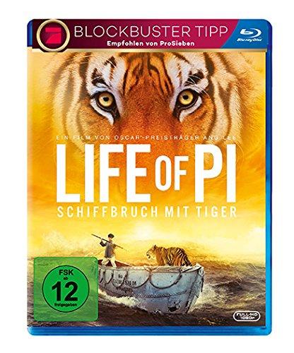 Bild von Life of Pi - Schiffbruch mit Tiger [Blu-ray]