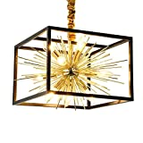 Vintage LED Plafonnier Lustre Industriel Chambre Salle à Manger Salon Individualité Eclairage Simple E14 Lampe en Métal Diamètre 15.75 po * Élevé 11.81 cm