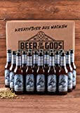 18 x Weizendoppelbock Craft Beer 0,33l Wacken Brauerei - Beer of the Gods - Craft-Beer Set Weizenbier - 18 Flaschen Bier - International Beer Award Gold