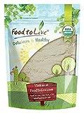 Food to Live Gomme de guar certifiée biologique (non-OGM, Kascher, en vrac) (4 onces)