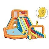 Mr. Fragile Hüpfburg, Großer Outdoor-Wasserpark für Aufblasbare Kinderspielzeuge mit doppelter...