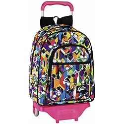 Lotto - Girl mochila grande con ruedas (Safta 6 11226 650)