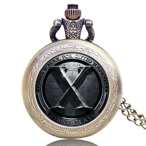 xmen-logo-antique-bronze-effect-retro-vintage-case-mens-quartz-pocket-watch-necklace-on-32-inch-80cm