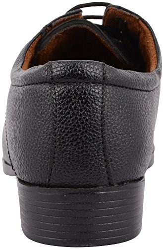 Dreamz Men's Black Synthetic Derby Shoes - 10 UK
