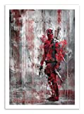Wisesnail Art-Poster - Deadpool 50 x 70 cm