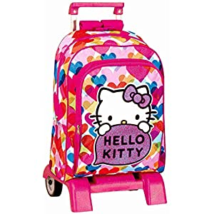 HELLO KITTY MOCHILA TROLLEY CARRO