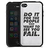 DeinDesign Apple iPhone 4s Coque en Silicone Étui Silicone Coque Souple Do it for...