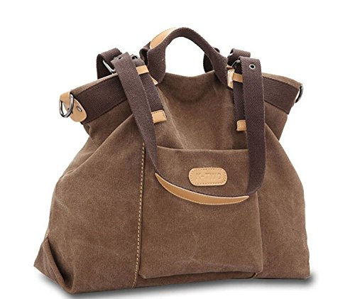 kiss-goldtm-womens-casual-canvas-top-handle-bag-shoulder-bagcoffee