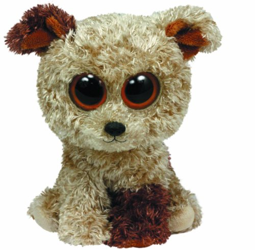 Beanie Boo Dog - Root Beer - 42cm 16""