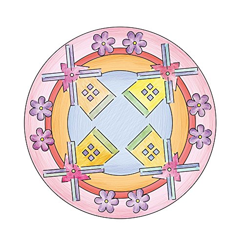 Imagen 4 de Ravensburger Deco Mandala Designer 18647 Hello Kitty - Set para crear diseños decorativos [importado de Alemania]