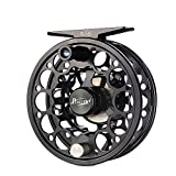 Piscifun Sword Fly Fishing Reels with CNC-machined Aluminum Alloy Body Fly Reel 3/4wt (Black)