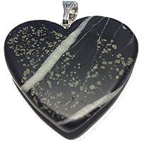 KRIO® - Schiefer mit Pyrit in Herzform preisvergleich bei billige-tabletten.eu