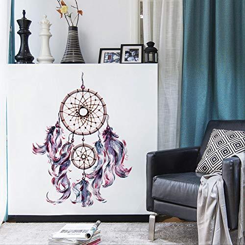 JXAA Hermoso atrapasueños Creativo Etiqueta de la Pared Sala de Estar Dormitorio Fondo decoración de la Pared Etiqueta Impermeable 50 * 70 cm
