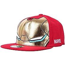 WITHMOONS Gorras de béisbol Gorra de Trucker Sombrero de Marvel Avengers Infinity War Iron Man Baseball