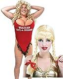 Alerte à Malibu Bikini Hairy Mary Costume et perruque