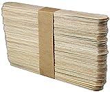 50 Leydi Holzspatel zum Auftragen von Wachs und Zuckerpaste - 2x15 cm