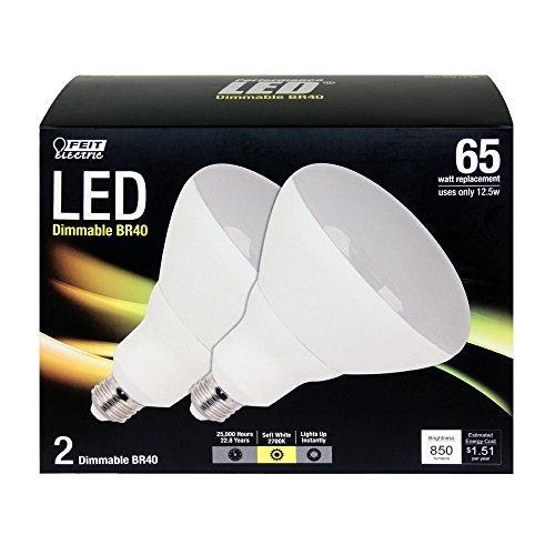 Feit BR40/DM/LEDG3/2 Br40 LED Light, Fully Dimmable, by Feit Led-br40