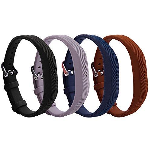 Ritche Fitbit Flex 2di ricambio Wristband, morbido silicone fitness Watch Band, Style-001