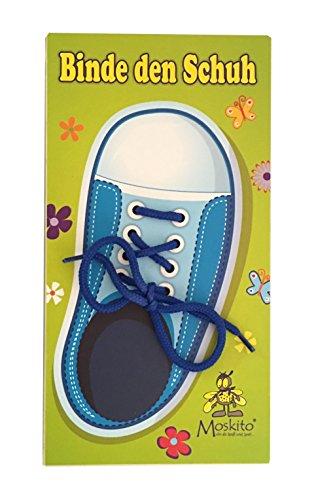 Binde den Schuh (Blau)