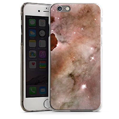 Apple iPhone 4 Housse Étui Silicone Coque Protection Galaxie Espace La colonne de poussière du brouillard Carina CasDur transparent