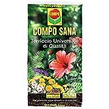 Compo Sana Universale LT. 80 Terriccio da Giardino, Multicolore, Unica