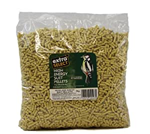 Extra Select High Energy Suet Pellets Insect 3 Kg Refill