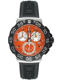 TAG Heuer Herren CAH1113.BT0714 Formula 1 Collection Chronograph Black Rubber Uhr