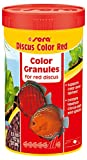 Sera Discus color Red 250ml, Granules for red Discus